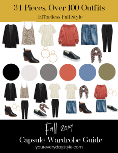 Fall Capsule Wardrobe Guide