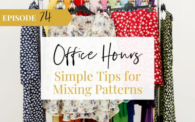Ep 74 Simple Tips for Mixing Patterns