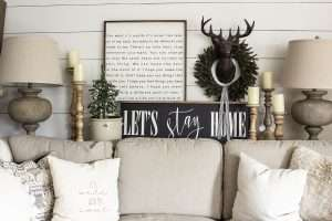 decorating home for winter; decorating ideas for winter; home decor ideas for winter; decorating for winter;