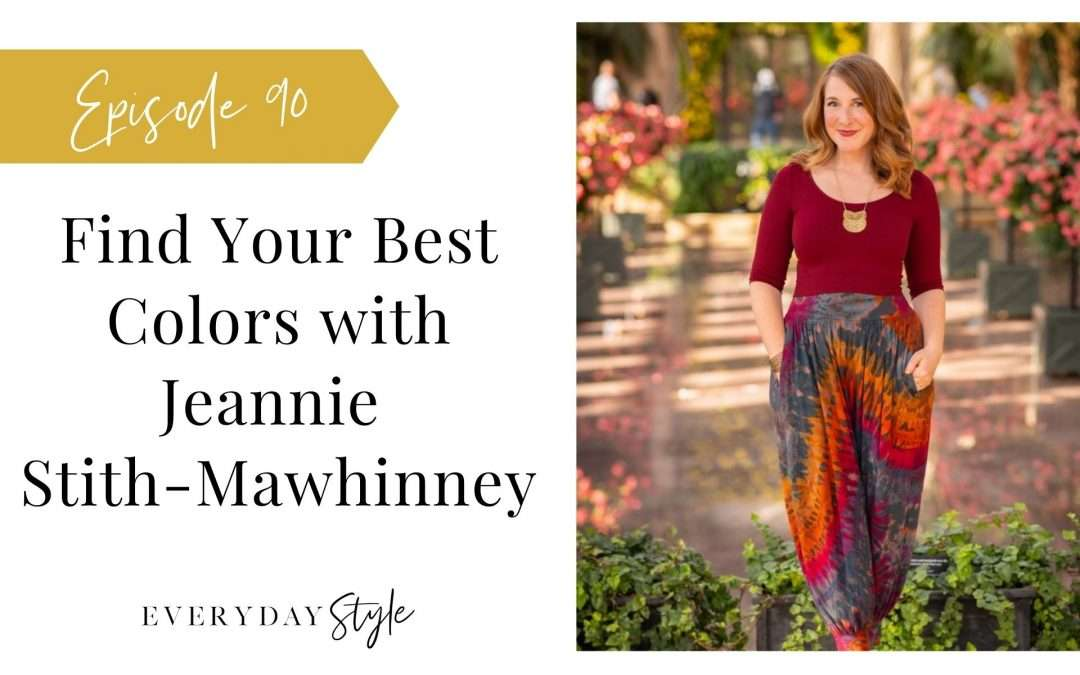 Finding Your Best Colors with Jeannie Stith-Mawhinney