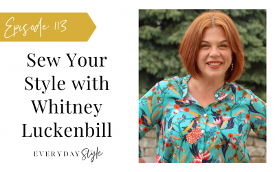 Sewing Your Style with Whitney Luckenbill